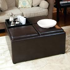 ottoman ottoman storage tray appealing extra large with bench