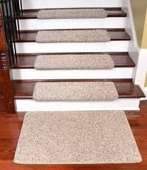 dean non slip bullnose carpet stair tread set of 3