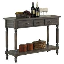 acme wallace dining table weathered blue washed wallace server weathered blue washed acme target