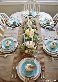 coastal thanksgiving table happy thanksgiving thanksgiving and