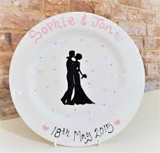 happy everything plates wedding commissions by dotty pottery based in norwich