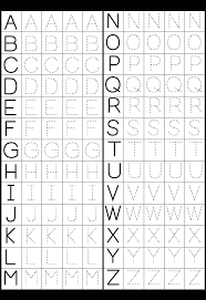 Preschool Worksheet Make A Printable Alphabet Letter Tracing Worksheets Letter