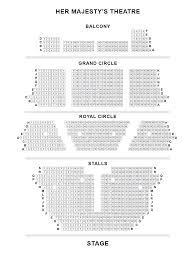 theatre floor plan her majesty u0027s theatre seating plan londontheatre co uk