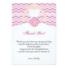 bridal shower thank you cards bridal shower thank you invitations announcements zazzle
