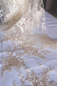 gold lace table runner runners ivory floral lace embroidered organza 14 x 108