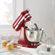 Mini Kitchen Aid Mixer by Kitchenaid Artisan Empire Red Mini Mixer With Flex Edge Beater