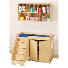 Diapers Changing Table Jonti Craft Changing Table With Stairs Left