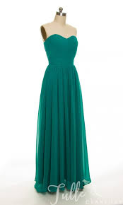 sweetheart ruched bodice and pleated long bridesmaid dress tbqp248