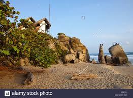 finca barlovento bungalo on the edge of tayrona national parque in