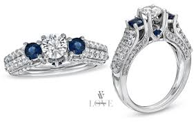 Vera Wang Wedding Rings by Your Unforgettable Wedding Vera Wang 3 Stone Engagement Rings
