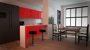 kitchen design interior 3d cgtrader kitchen design 3d model obj fbx blend mtl 1