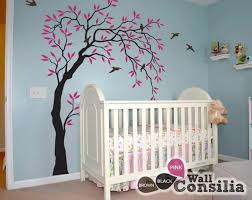 Tree Decal For Nursery Wall Wall Tree Decoration For Nurserywallconsilia