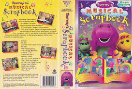 Barney And The Backyard Gang I Love You Barney Musical Scrapbook Vhs Video Pal A Rare Find Ebay