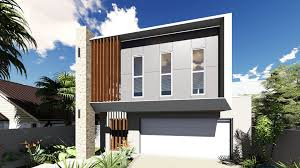 narrow block home designs 4990