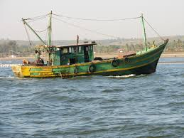 a typical fishing  boat