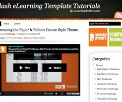 flash and tutorial elearning learning
