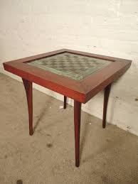 well designed mid century chess table for sale at 1stdibs