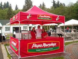 Custom Shade Canopies by Pop Up Canopies For Your Restaurant Patio Kd Kanopy Blog