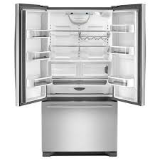 Counter Depth Stainless Steel Refrigerator French Door - jenn air french bottom freezer refrigerator jfc2290rem