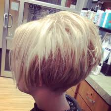 diy cutting a stacked haircut short cropped stacked tapered br hot hair pinterest