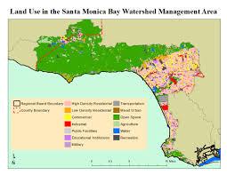 Map Of Santa Monica Santa Monica Bay
