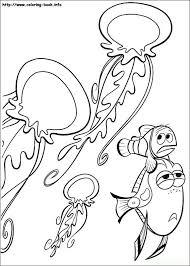 40 可愛魚類線稿 images finding nemo coloring