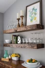 create dining room storage with floating shelves hey let u0027s make