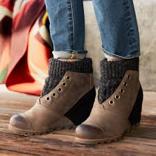 sweater boots joanie sweater boots robert redford s sundance catalog