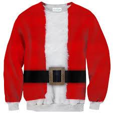 santa sweater santa belly sweater shelfies