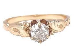 nouveau engagement rings nouveau ring ebay