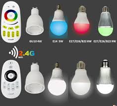 full color led bulb gu10 4w wireless led rgb spot light indoor