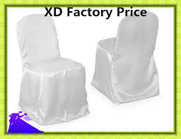 White Chair Covers For Sale Online Get Cheap White Satin Chair Covers Aliexpress Com