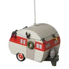 amazon com camper trailer ornament by midwest cbk home u0026 kitchen