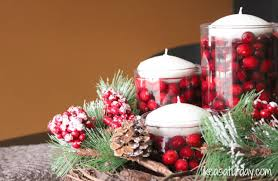 pine cone table decorations table a decorated christmas dining table christmas table decor