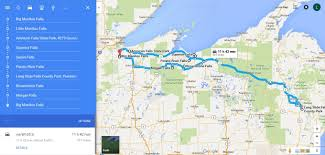 Road Map Of Michigan The Ultimate Wisconsin Waterfalls Road Trip Is Right Here U2013 And