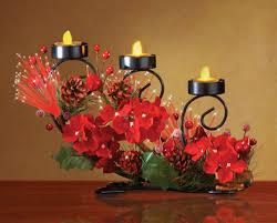 pine cone tea light holder elegant fiber optic lighted christmas tea light candle holder