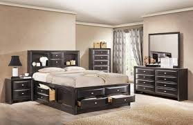 size bedroom sets with storage