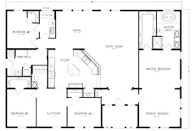 4 bed floor plans 4 bedroom 2 bath house plans extremely ideas home design ideas