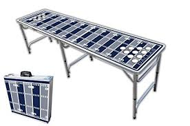 amazon com 8 foot professional beer pong table w holes dallas