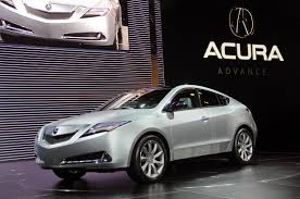 acura jeep acura zdx concept revealed at new york