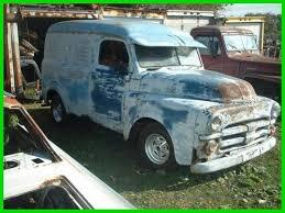 D100 W100 Columbus Mitula Cars 1950 Dodge Panel Van 1 Possible Trade 100570725 Custom Van