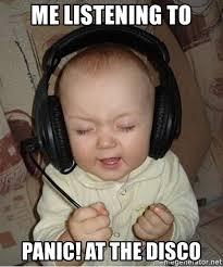 baby headphones meme generator