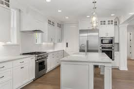 how to paint stained kitchen cabinets white how to stain kitchen cabinets white hunker