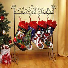 believe metal holder santa will come if only you believe