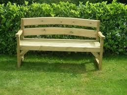 Chair In Garden Lawn U0026 Garden Unfinishe Wooden Garden Benches Made From Pine