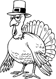 coloring pages turkey printable thanksgiving sheets