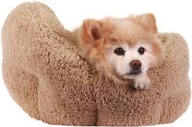Burrowing Dog Bed Best Friends By Sheri Orthocomfort Sherpa Deep Dish Cuddler Dog
