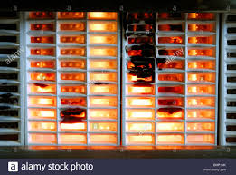 gas fireplace with a heavy build up of soot stock photo royalty