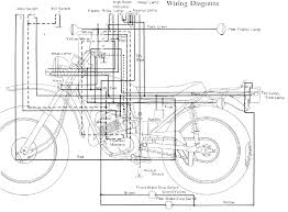 dt 100 dt175 enduro motorcycle wiring schematics diagram