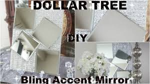 diy dollar tree mirror diy bling decor with kingso diamond mesh